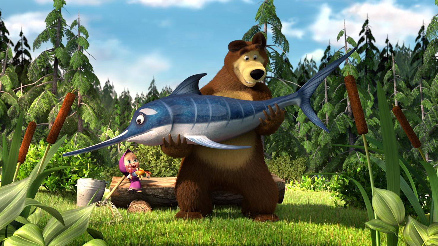 Раскраски маши и медведя игры